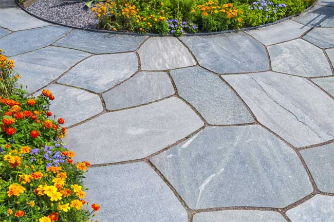 Ways to Use Flagstone to Enhance Your Property